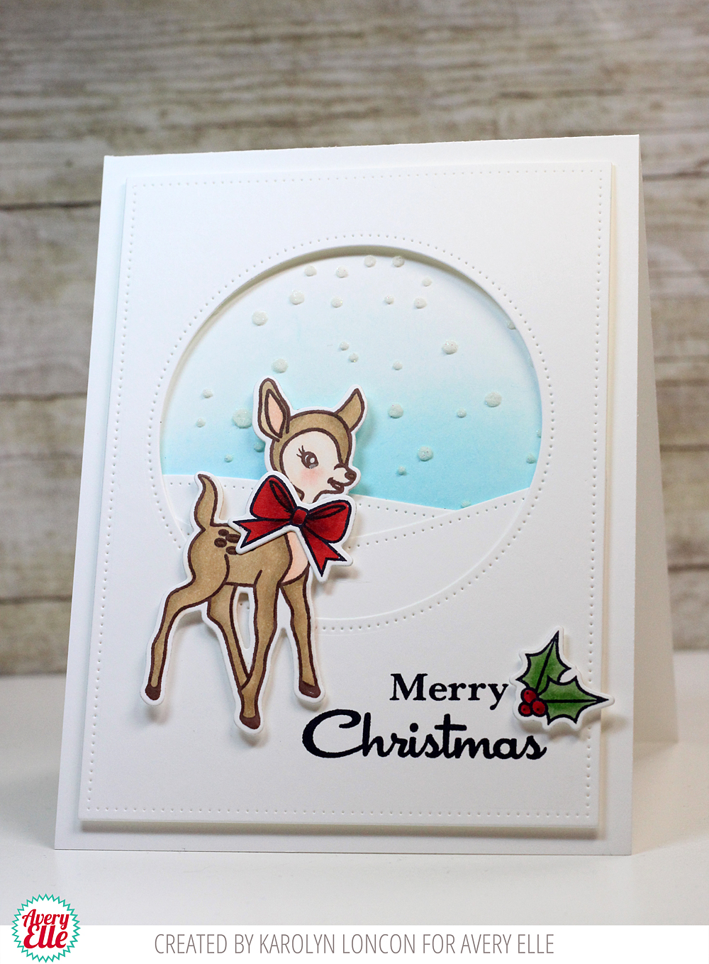 avery elle  a retro card  u0026 an amazing holiday gift box