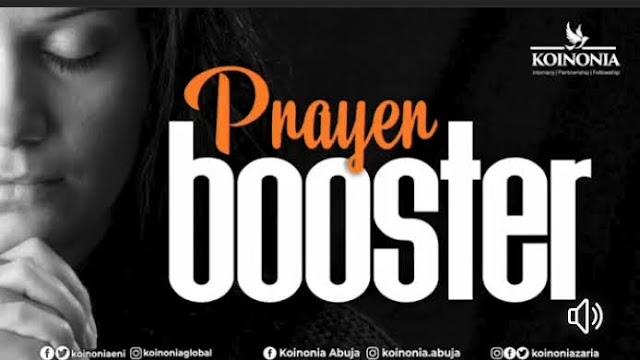Prayer Booster By Apostle Joshua Selman (Prayer And Chants)