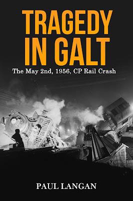 CP Rail Galt Ontario 1956 Crash