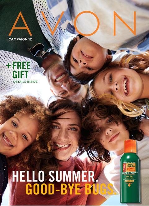 AVON Campaign 12 Brochure Online 2021- Hello Summer. Good-Bye BUGS!
