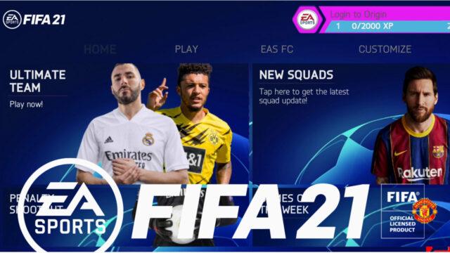 تحميل لعبة فيفا موبايل FIFA 2021 للاندرويد بدون إنترنت