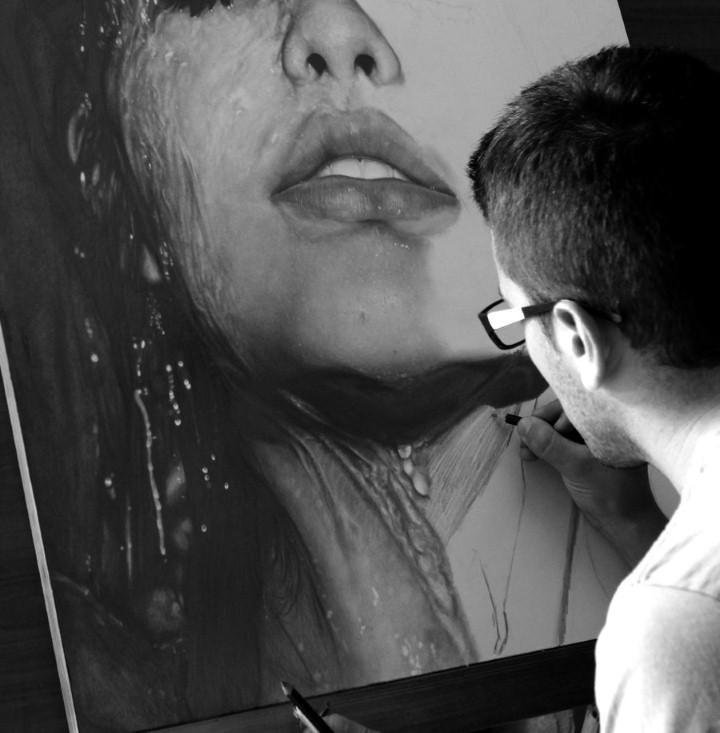 Diego Fazio. Реалистичные рисунки карандашом