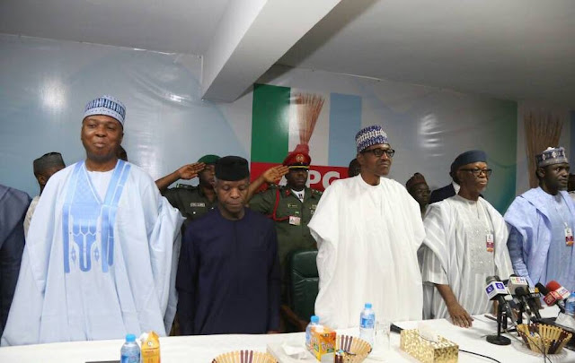 JUST IN: Oyegun, others not eligible to run for APC leadership positions – Buhari