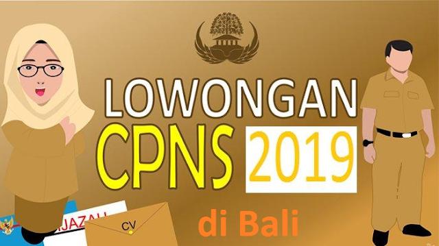 Formasi CPNS 2019 Bali