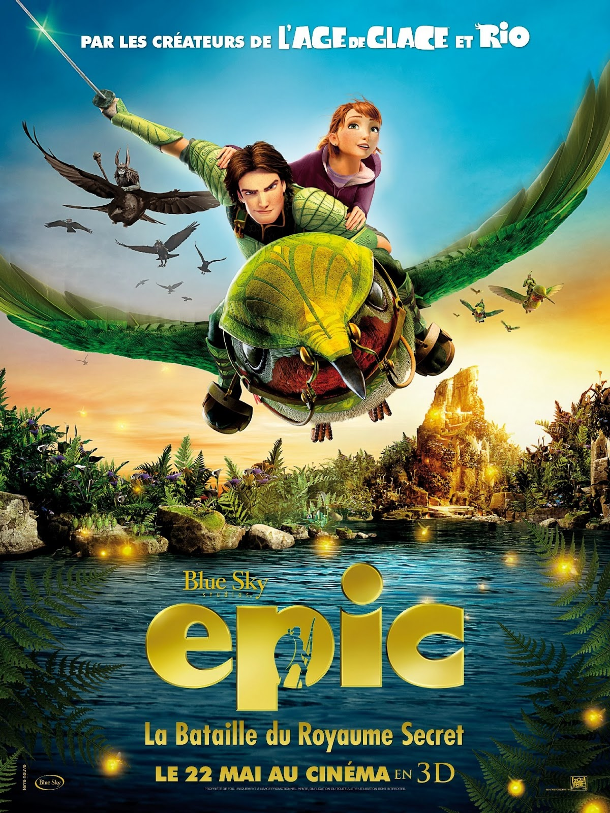 epic poster ice film movies animation