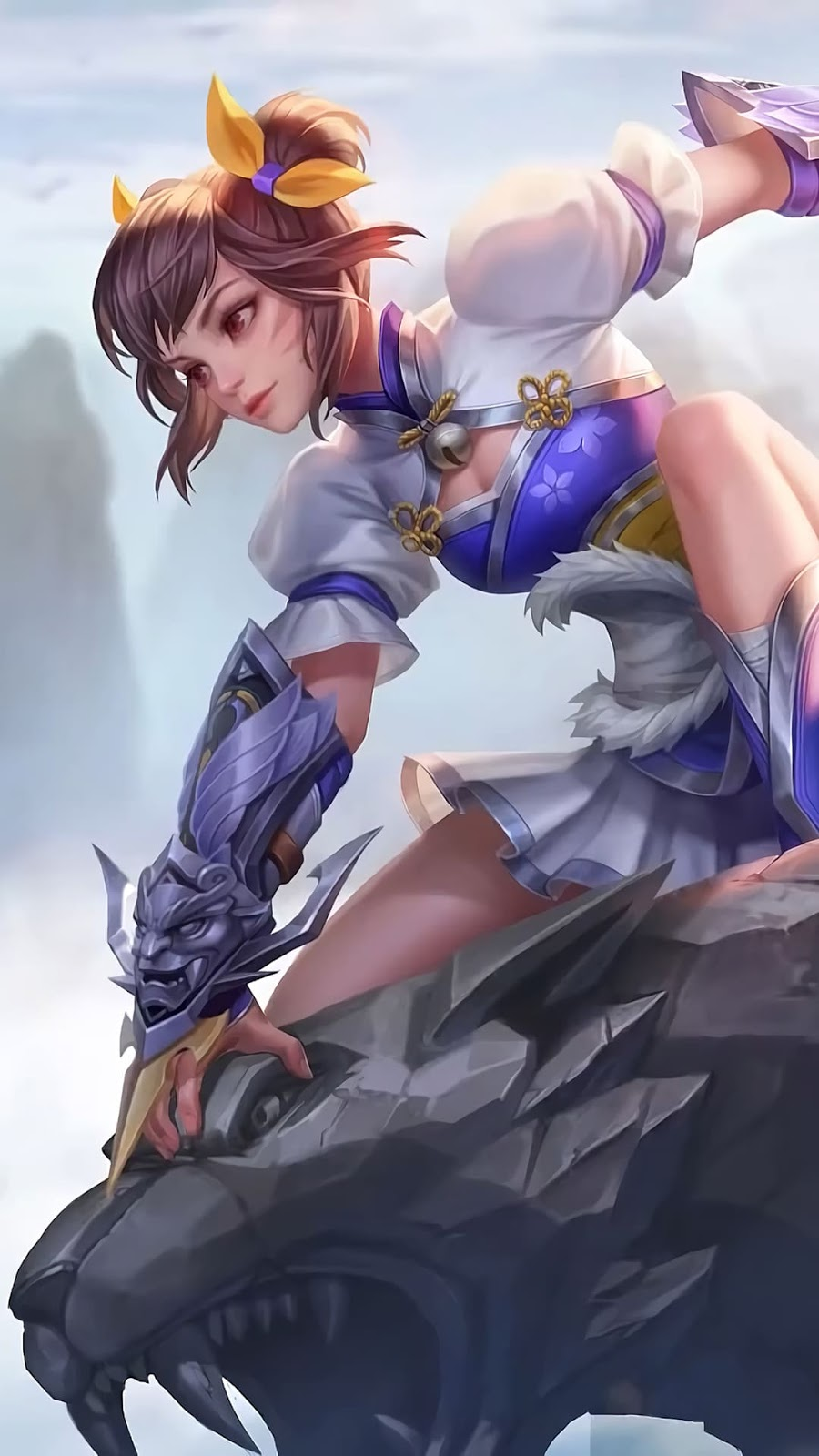 Wallpaper Wanwan Darting Star Skin Mobile Legends HD for Android and iOS