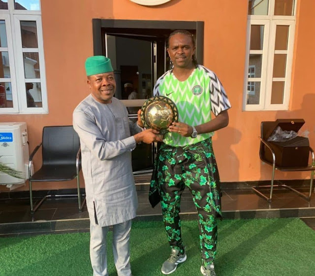 Kanu Nwankwo Gets Political Appointment in Imo State