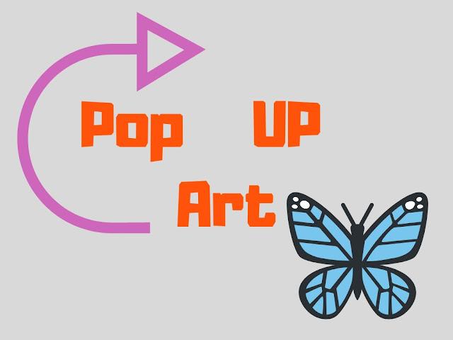Pop UP Art by Minaz Jantz