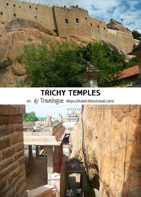 Uchi Pillayar Temple Rock Fort Tiruchirappalli