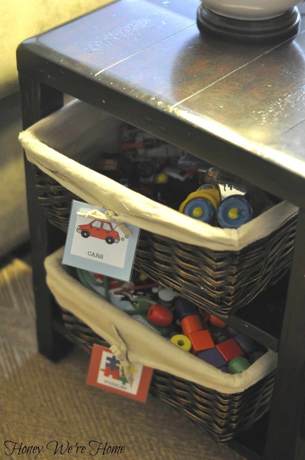 2019 New Wardrobe Kids Organizer Bins Box For Toys: Home Organization (DIY Toy Labels)