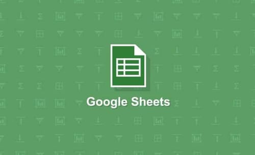 Google Sheets suggests formulas and functions automatically