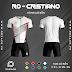 Áo Không Logo Rozaco RO-CRISTIANO Màu Trắng