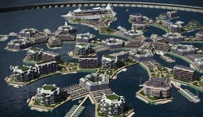 Proyek Kota Terapung Pertama di Dunia Akan Dimulai