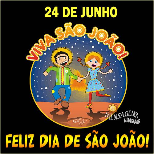 Mensagem de Dia de São João