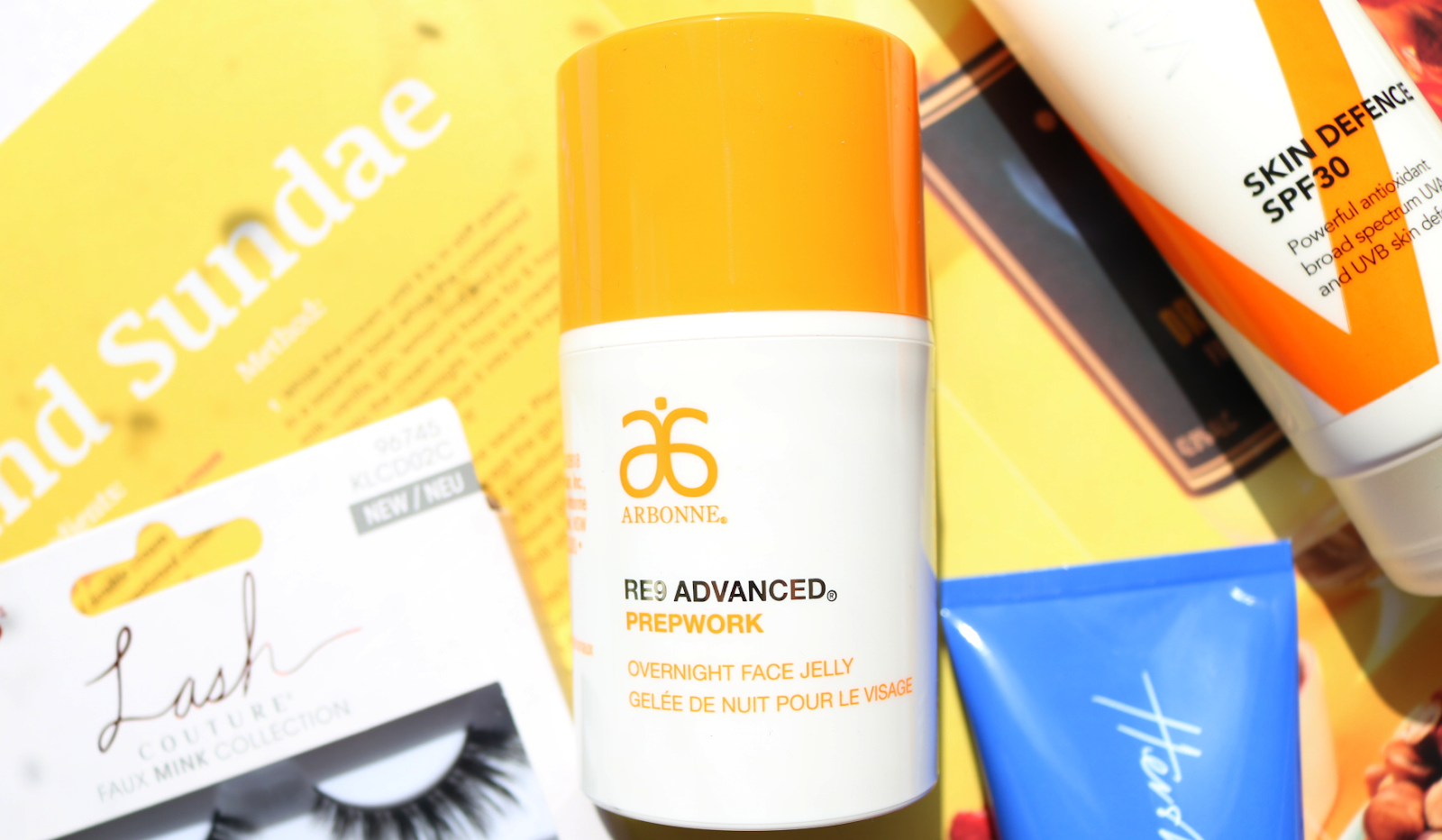 Arbonne RE9 Advanced Prepwork Overnight Face Jelly