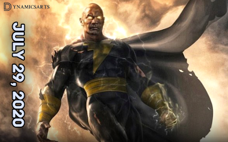 The Rock 'Black Adam' Movie Unveils New Release Date for July 2022