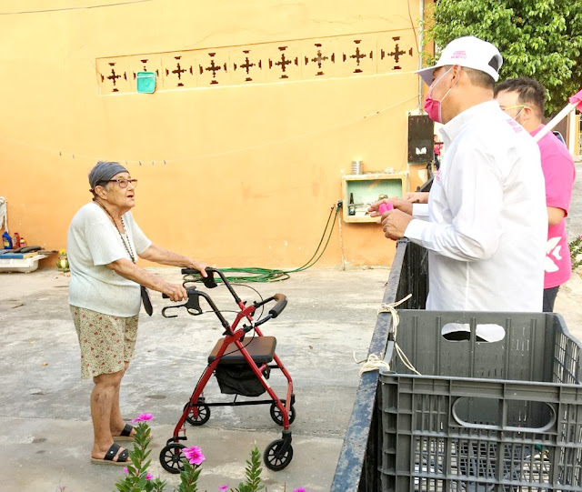 Grupos vulnerables, prioridad para Ernesto Sonda