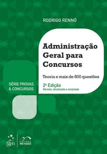 Administração Geral Para Concursos – Rodrigo Rennó Download Grátis