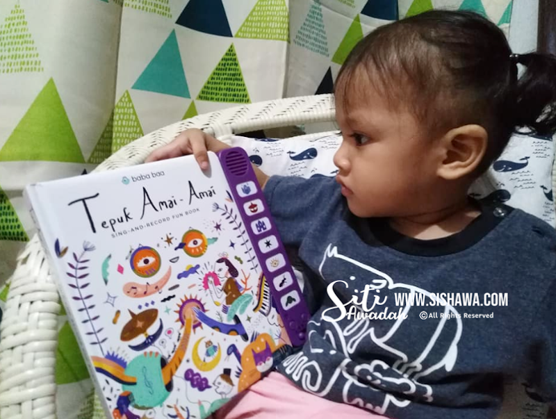 Seronok Ajar Anak Belajar Dengan Tepuk Amai-Amai Sing and Record Fun Book Dari Baba Baa