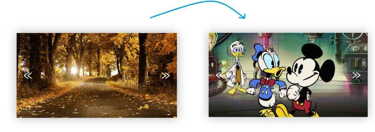 Activate the image slider by adding JavaScript code