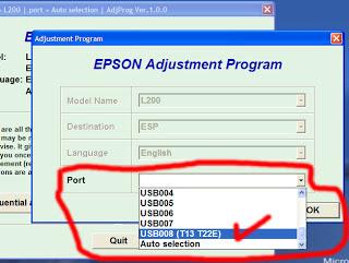 Resetter Epson T13