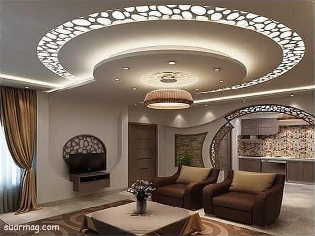 اسقف جبس بورد حديثة 6 | Modern Gypsum Ceiling 6