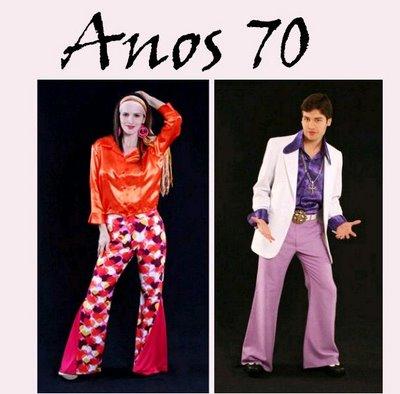 fbea317f6 Alguns estilistas mostram os anos 70 como uma continuidade dos anos 60