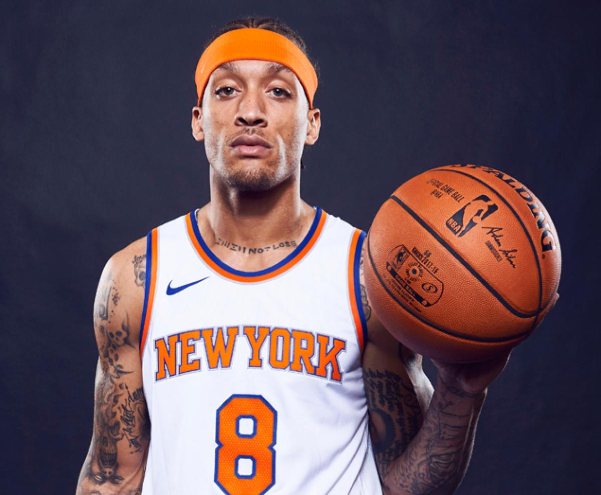 43f66d06e41 Season-ending injury to Knicks Kristaps Porzingis - Michael Beasley ...