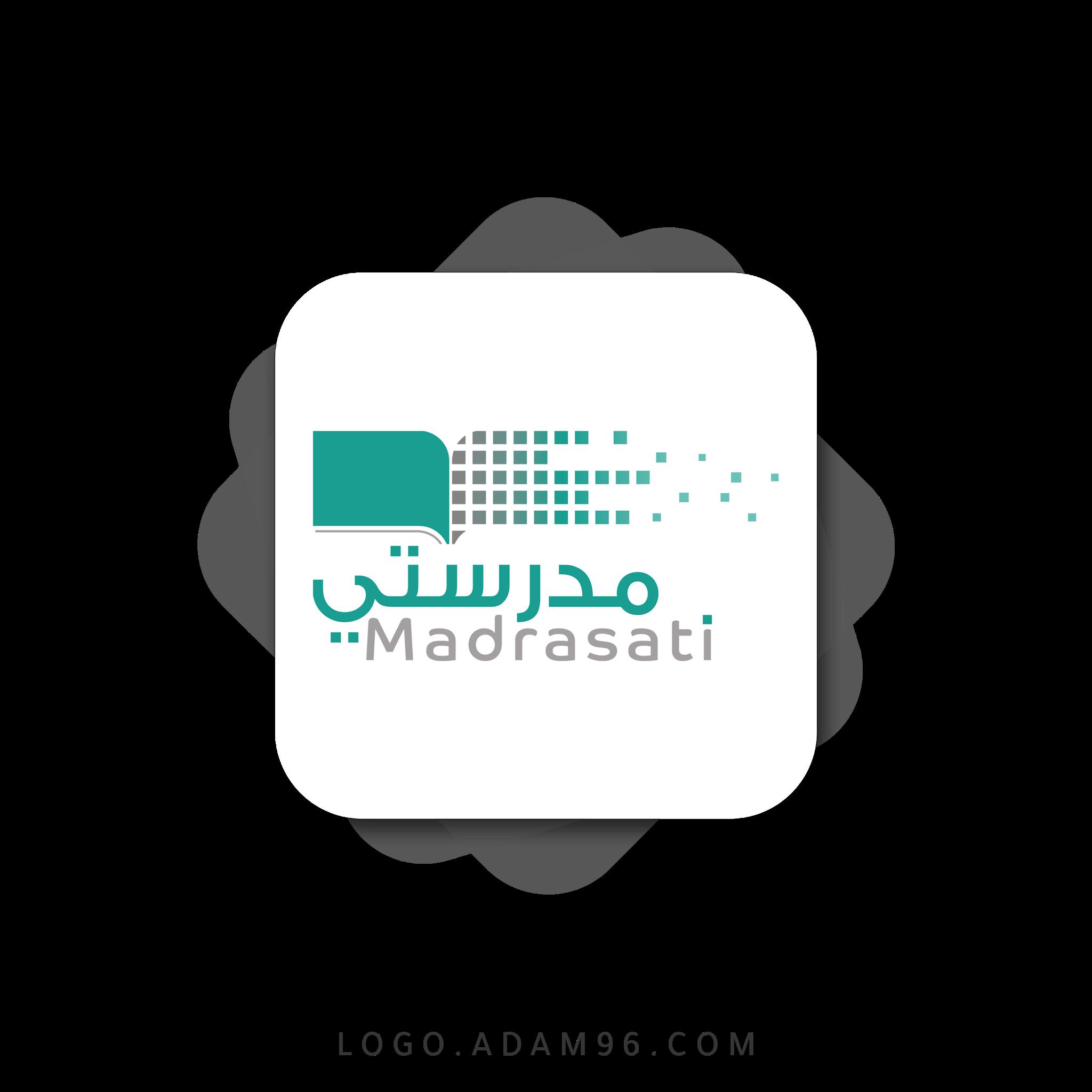تحميل شعار منصة مدرستي لوجو عالي الدقة بصيغة شفافة PNG