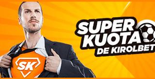 Kirolbet superkuota Final Champions Real Madrid vs Liverpool 26 mayo