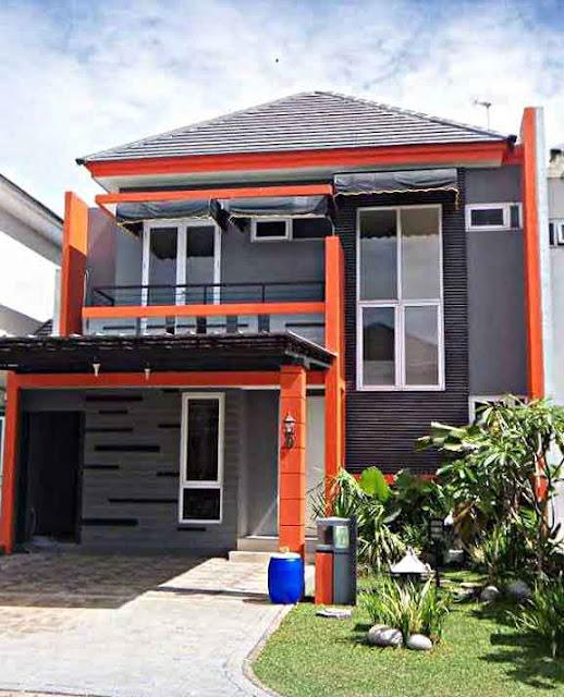 Desain Rumah Minimalis 2 Lantai Sederhana 3 Kamar Tidur