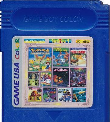 gameboy multigames cartridge