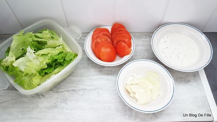 Un Blog De Fille Recette Kebab Maison Pain Pita Et Sauce Blanche Thermomix