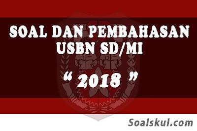 Download Soal dan Pembahasan USBN SD/MI 2018