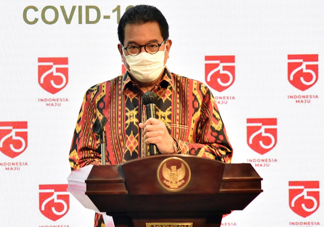 Wiku Adisasmito : Zona Risiko Tinggi di 33 Kabupaten/Kota Menurun