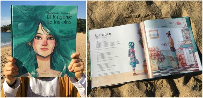 cuentos infantiles especiales sorprendentes asombrosos el lenguaje de la olas esther gili
