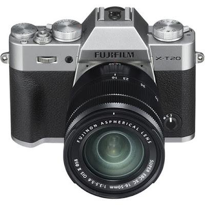Fujifilm X-T20ミラーレスデジタル一眼レフカメラファームウェアのダウンロード