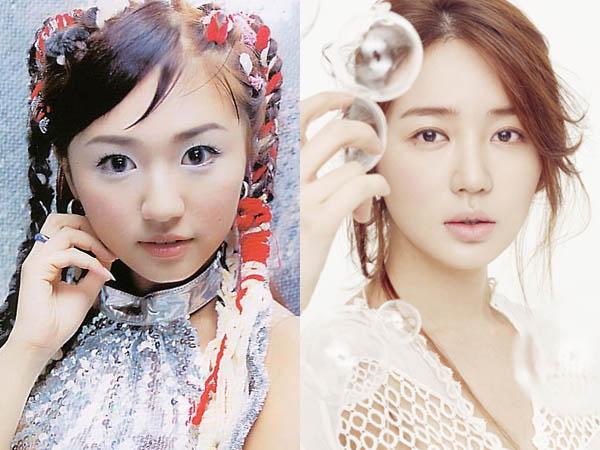 perubahan wajah artis korea yang operasi plastik   berita
