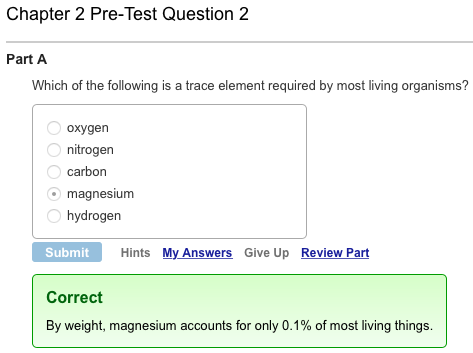 mastering biology assignment answers