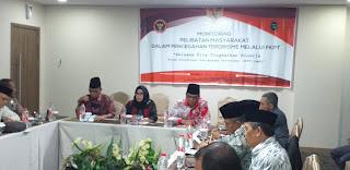 Kaban Kesbangpol Provinsi Jambi Membuka Secara Resmi Monitoring Pelibatan Masyarakat Dalam Pencegahan Terorisme Melalui FKPT