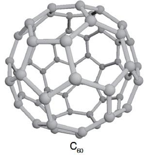 Resultado de imagem para estrutura do C60