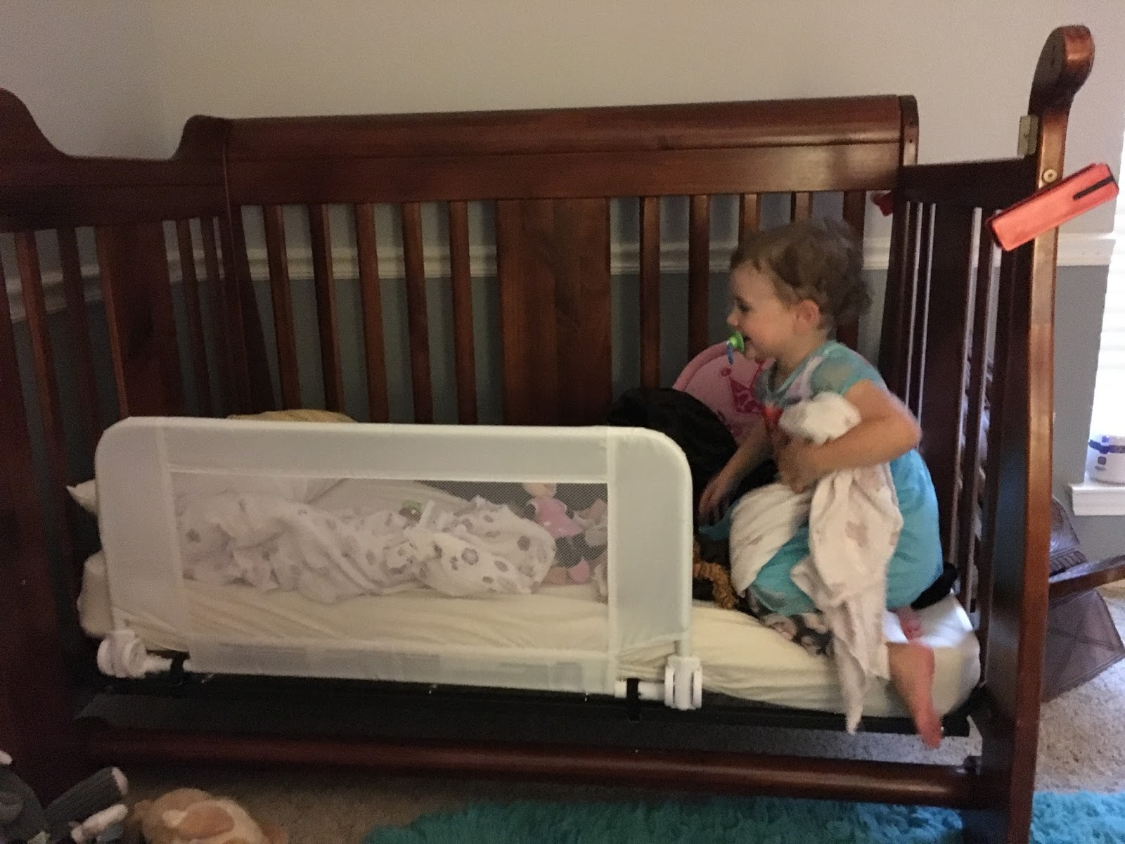 Toddler Bed For My Littlest Baby A Joy Renewed
