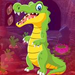 Games4King Pretty Crocodile Rescue