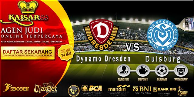 Prediksi Bola Jitu Dynamo Dresden vs Duisburg 7 Agustus 2018