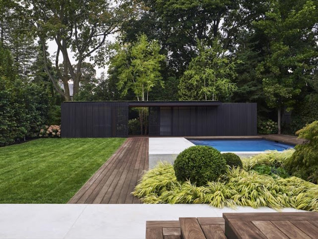 The countryside is so beautifully built with this landscaped garden house.