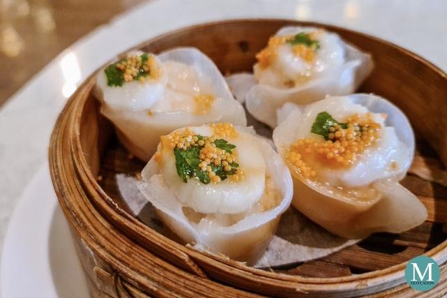 Steamed Scallop Dumplings at Summer Palace at Edsa Shangri-La, Manila