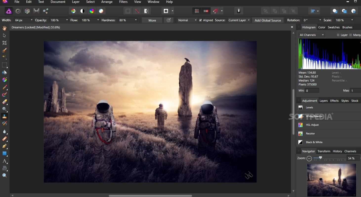 Serif Affinity Photo 1.8.0.532 poster box cover