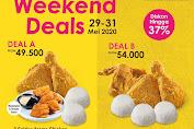 Promo AW Restoran Weekend Deals Berlaku 29 - 31 Mei 2020