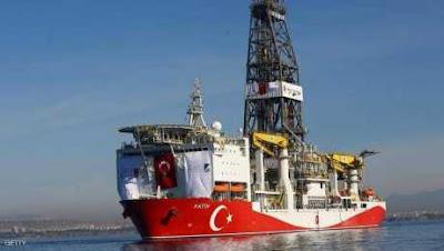 سفينة تركية جديدة تبدأ التنقيب شرق المتوسط رغم التحذيرات الشديدة