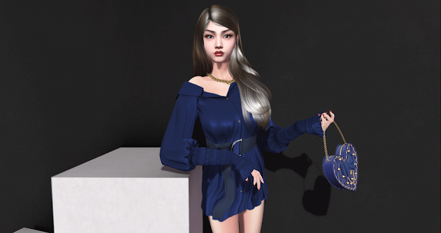 Insomnia Store Lazy Blouse Dress / Cosmopolitan event